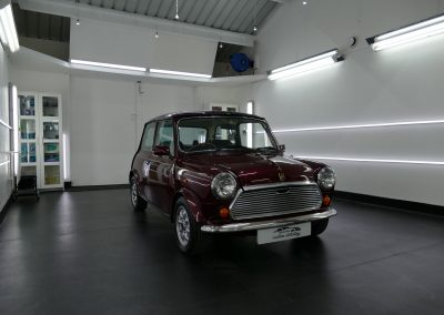 car polishing Mini Cooper